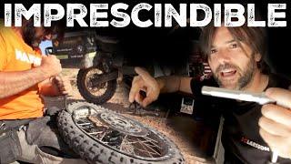 Herramientas, recambios y accesorios  | Cómo organizar un viaje en moto. Vlog#120