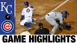 Kris Bryant, Alec Mills lead shutout win | Royals-Cubs Game Highlights 8/2/20