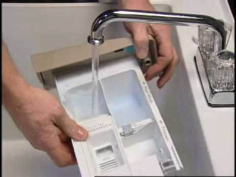 Front Load Washer Troubleshooting Clogged Dispenser Youtube