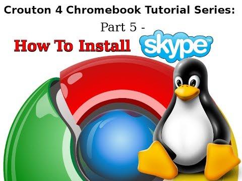 Linux & Chromebooks - Installing Skype