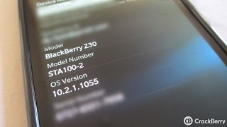 New features of BlackBerry OS 10.2.1