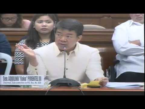 Blue Ribbon Committee [Sub-Committee on P.S. Res. No. 826] (October 8, 2014)