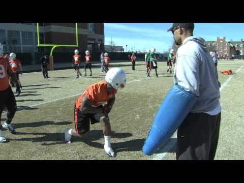 Cowboy Football: 2013 Spring Practice #1 Highlights