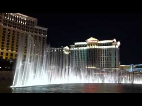 Bellagio Fountains - Las Vegas Dec 2011 (michael Jackson - Billie Jean) video