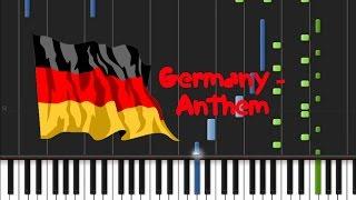 Germany - Anthem [Piano Tutorial] (♫)