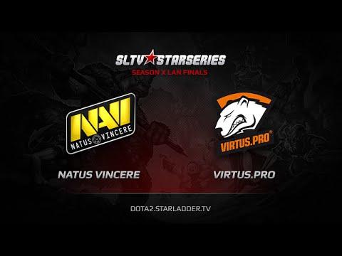 NaVi vs Virtuspro SLTV StarSeries X Finals Game 7