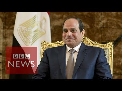 An Interview with Egyptian President al-Sisi - BBC News