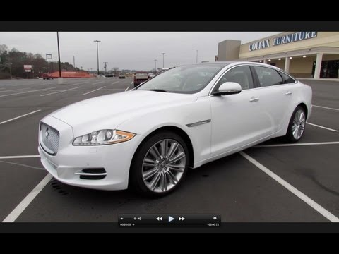 2013 Jaguar XJL Portfolio 3.0L Supercharged AWD Start Up, Exhaust, and In Depth Review