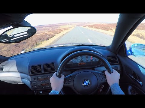 BMW M3 POV Test Drive - UK Country Roads