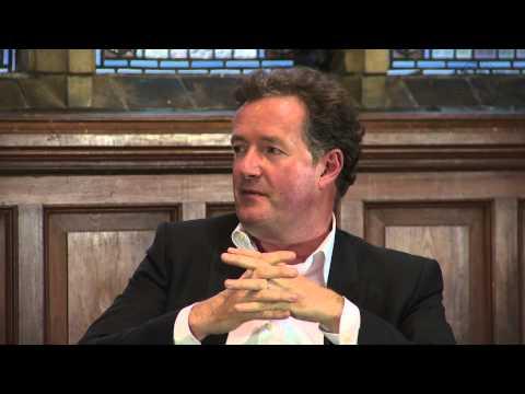 Piers Morgan - Jeremy Clarkson Punch