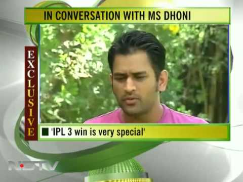 Dhoni to NDTV: I