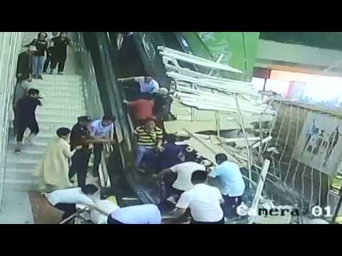 Chinese Tourists Crushed After Ceiling Collapses at Popular Spot