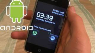 How To Install Android 2.2.1 On iPhone 3G/2G - Dual Boot Froyo 2.2