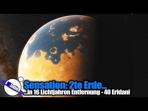 Sensation: Zweite Erde in 16 Lichtjahren Entfernung HD 26965 b - 40 Eridani A