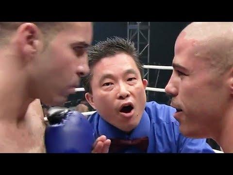 Самый зрелищный бой в истории - Комментатор обезумел / Майк Замбидис против Шахида Оулада