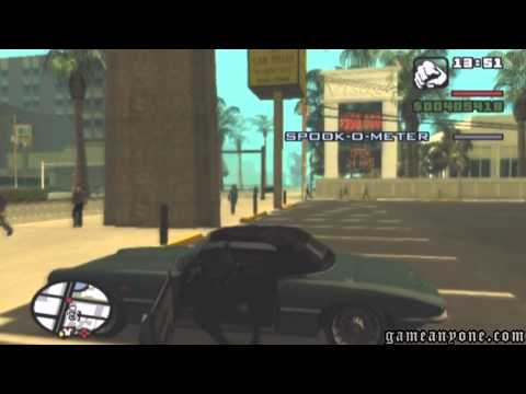GTA: San Andreas - 94 - Key To Her Heart (Full Mission + Keycard Access) - (HD)