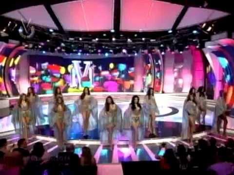 Desfile en traje de baño Miss Venezuela 2014 I