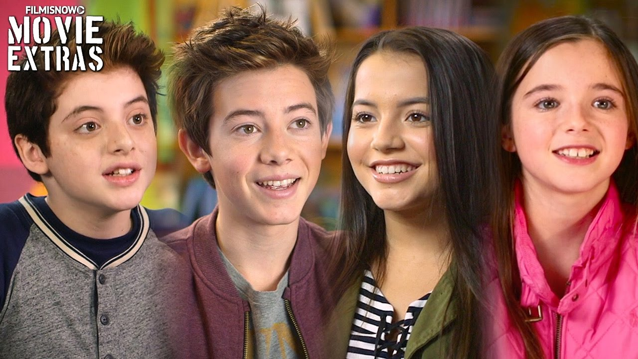 Middle School: The Worst Years of My Life | On set visit with the movie's cast of kids