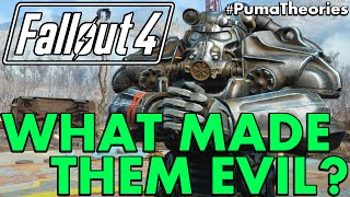 Fallout 4: Why the Brotherhood of Steel Became Evil Theory #PumaTheories