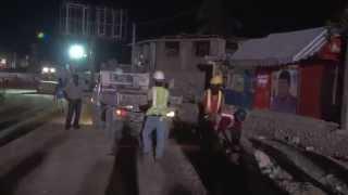 #viaduc-haiti:visite Surprise Du Premier Ministre Lamothe Au Viaduc  De Carrefour Aeroport