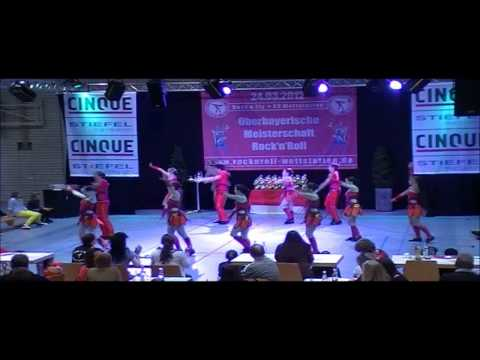 Royal Dancers - Oberbayerische Meisterschaft 2012