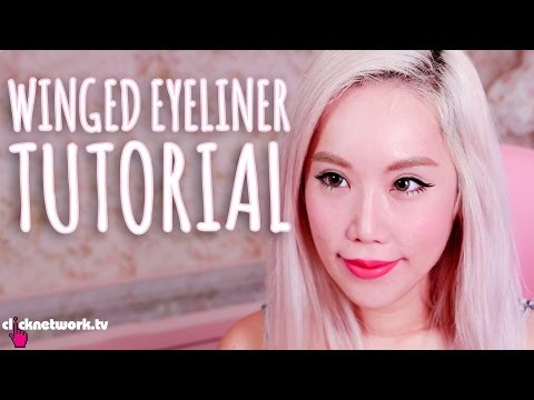 Winged Eyeliner Tutorial - Xiaxue's Guide To Life: EP170