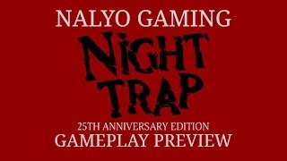 NIGHT TRAP - 25th Anniversary Edition, PS4 Gameplay (1st Time Playing)