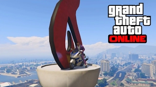 GTA 5 TOP 10 STUNTS ! MOTO ULTRA PRECISION !?
