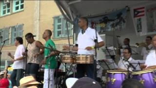 Mambo Legends at Old Timers Stick ball 111 st Festival video by Jose Rivera 7:13:14