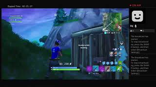 Playing Fortnite with AK met a new friend