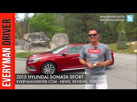2015 Hyundai Sonata Sport Review on Everyman Driver