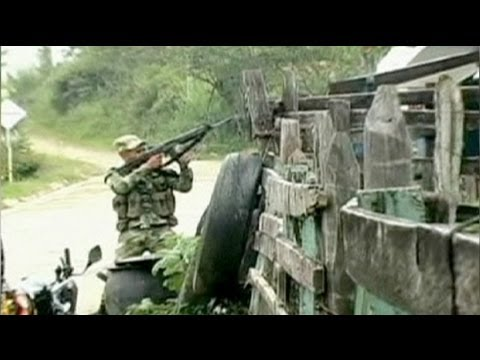 FARC rebels come under pressure in Colombia