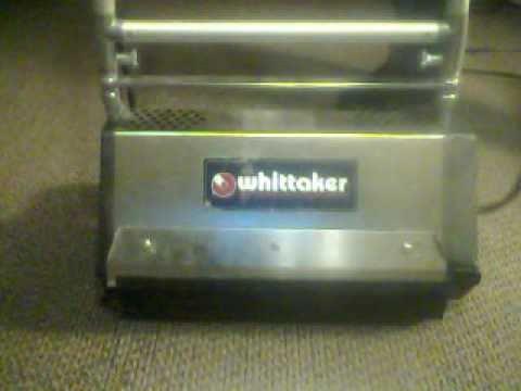 whittaker carpet machine parts