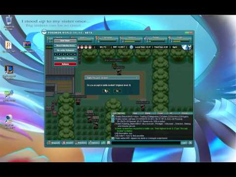 pokemon world online beta gameplay (español)
