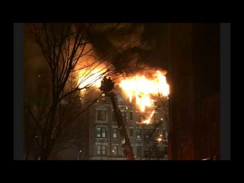 Another NY Fire, Huge Blaze On Corner of 66th & 1st Ave