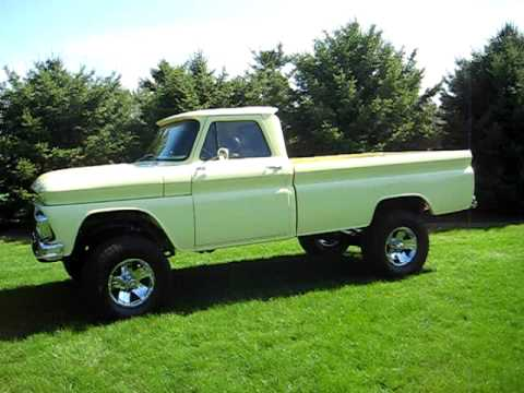 1964 Chevy 4x4 Youtube