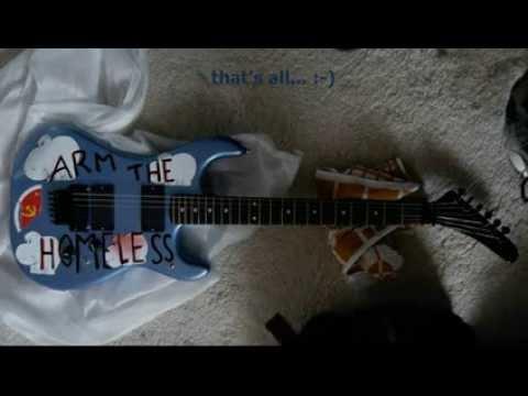Arm The Homeless Tom Morello guitar project
