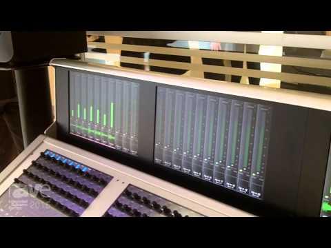ISE 2015: Harman's Studer Details the Vista 1-32 Fader with Optional Meter Bridge