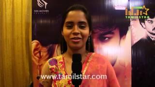 Cathy At Thiruttu Rail Movie Team Interview