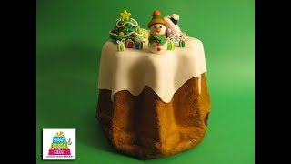 Pandoro innevato - Cakemania.it
