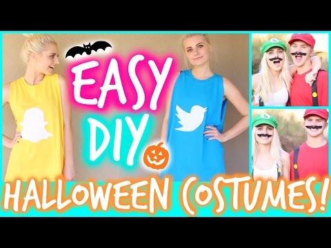 Easy & Funny DIY Halloween Costumes! | Aspyn Ovard
