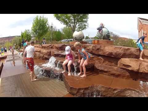 St. George, Utah Splash Park Fun