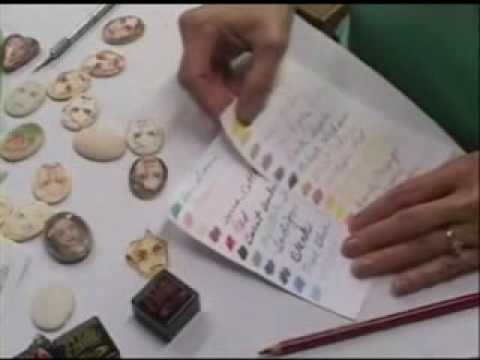 Polymer Clay TV Episode #105 Penni Jo Couch Demo At The O...