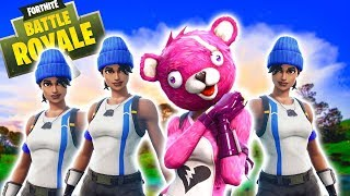 PINK PANDA MEDIC CHALLENGE | UNBELIEVABLE FORTNITE BATTLE ROYALE MATCH!