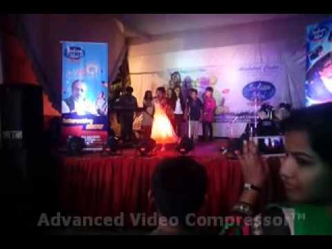 indian idol academy allahabad  performance by  Avani