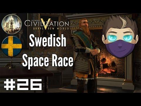 Civilization V: Swedish Space Race #26 - Breathe Free