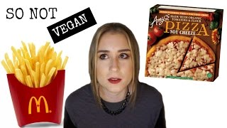 Foods You Thought Were Vegan But Are Not l Vegan Newbie Mistakes