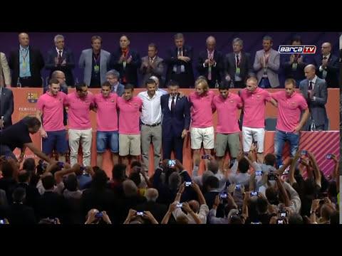 Los nuevos fichajes, aclamados en el XXXV Congreso Mundial de Peñas