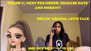 ARIANA IS AT IT AGAIN!!! TUN PRE-ORDER RELEASE DATE AND MORE!!!!