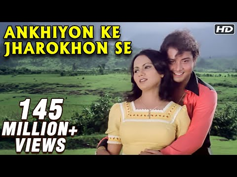 Ankhiyon Ke Jharokhon Se - Classic Romantic Song - Sachin & Ranjeeta Music Videos